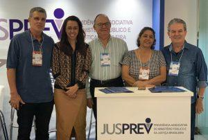 Estande da JUSPREV, na Convenção Nacional da ANFIP